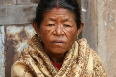 Kathmandu marktvrouw