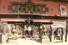 Monumenten Kathmandu met kids