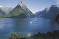 Fjordland sounds Nieuw Zeeland met kinderen