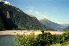 Haast pass zuidereiland Nieuw Zeeland met kinderen