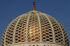 Koepel Sultan Qaboos moskee