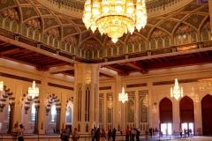 Kroonluchter Sultan Qaboos moskee