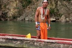 Baas van de Embera stam
