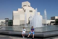 Doha met kinderen