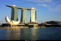 Marina Sands Singapore met kinderen