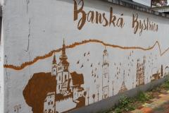 Banska Bystrica Slowakije met kinderen