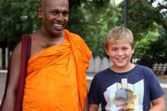 Ontmoeting Sri Lanka met kinderen