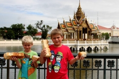 Bang Pa In zomerpaleis Bangkok met kinderen