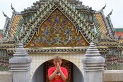 Bidden Bangkok met kinderen