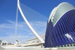 Calatrava Valencia met kinderen