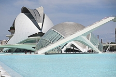 Calatrava pracht Valencia met kinderen