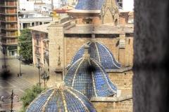Kathedraal Valencia met kinderen