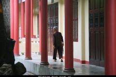 Vietnam aandoenlijk mooie monniken in het klooster van Nha Trang
