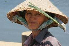 Vietnam alleen aan het werk