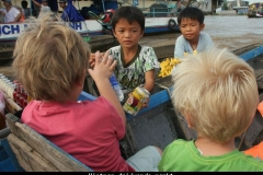 Vietnam drijvende markt Mekong delta