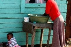 Aan het werk Zuid Afrika met kinderen