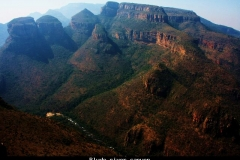 Blyde river canyon Zuid Afrika met kinderen
