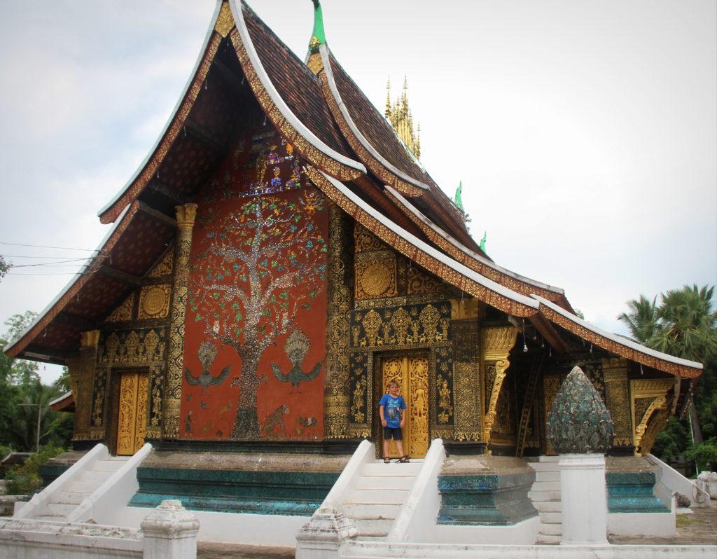 Absolute schoonheid architectuur Luang Prabang tempels Laos