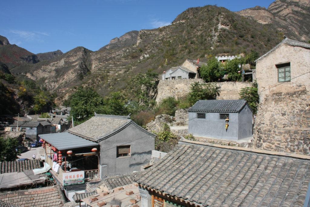 Guandixia China met kinderen