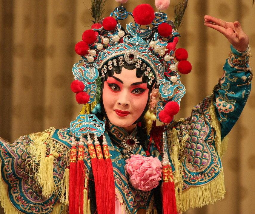 Beijing opera met kinderen