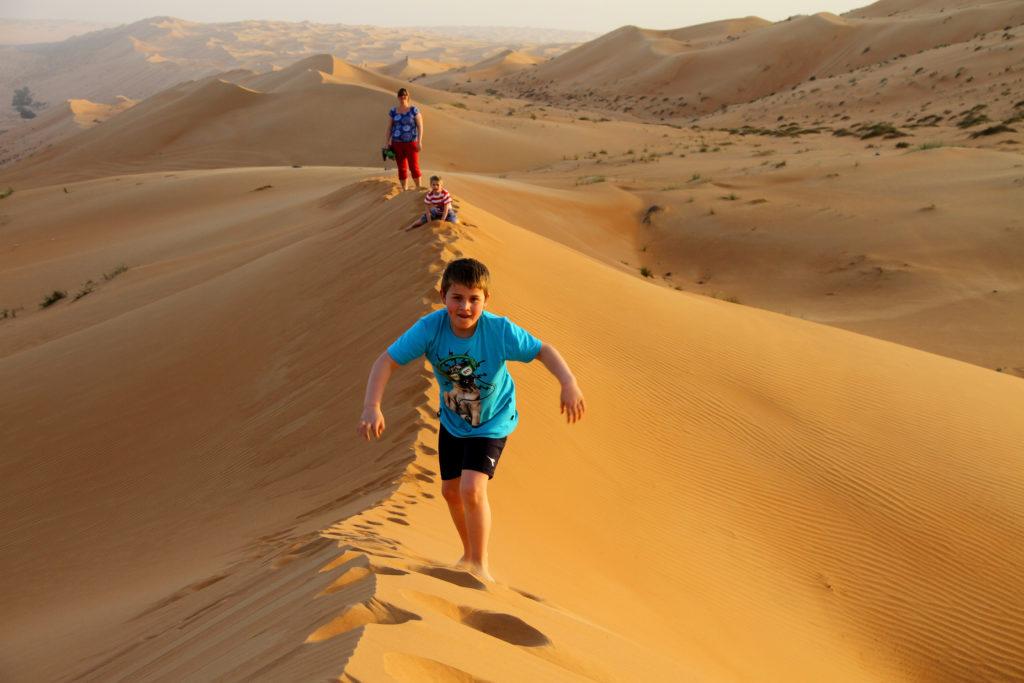 Oman met kinderen foto album