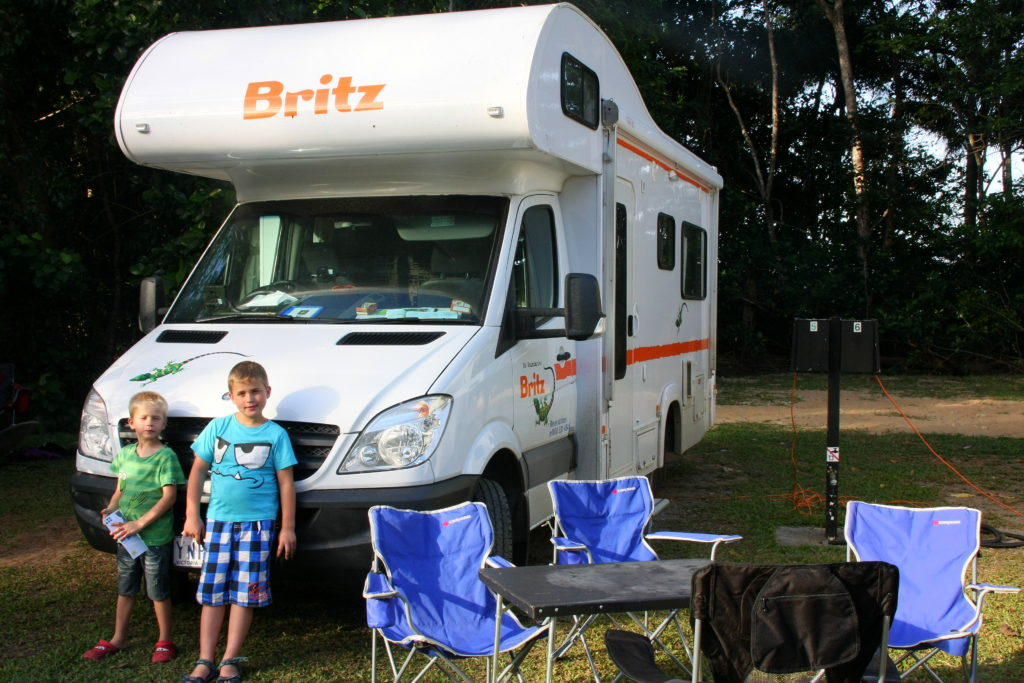 Australië met kinderen per camper
