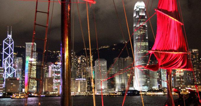 Reisfoto's Hong Kong met kinderen