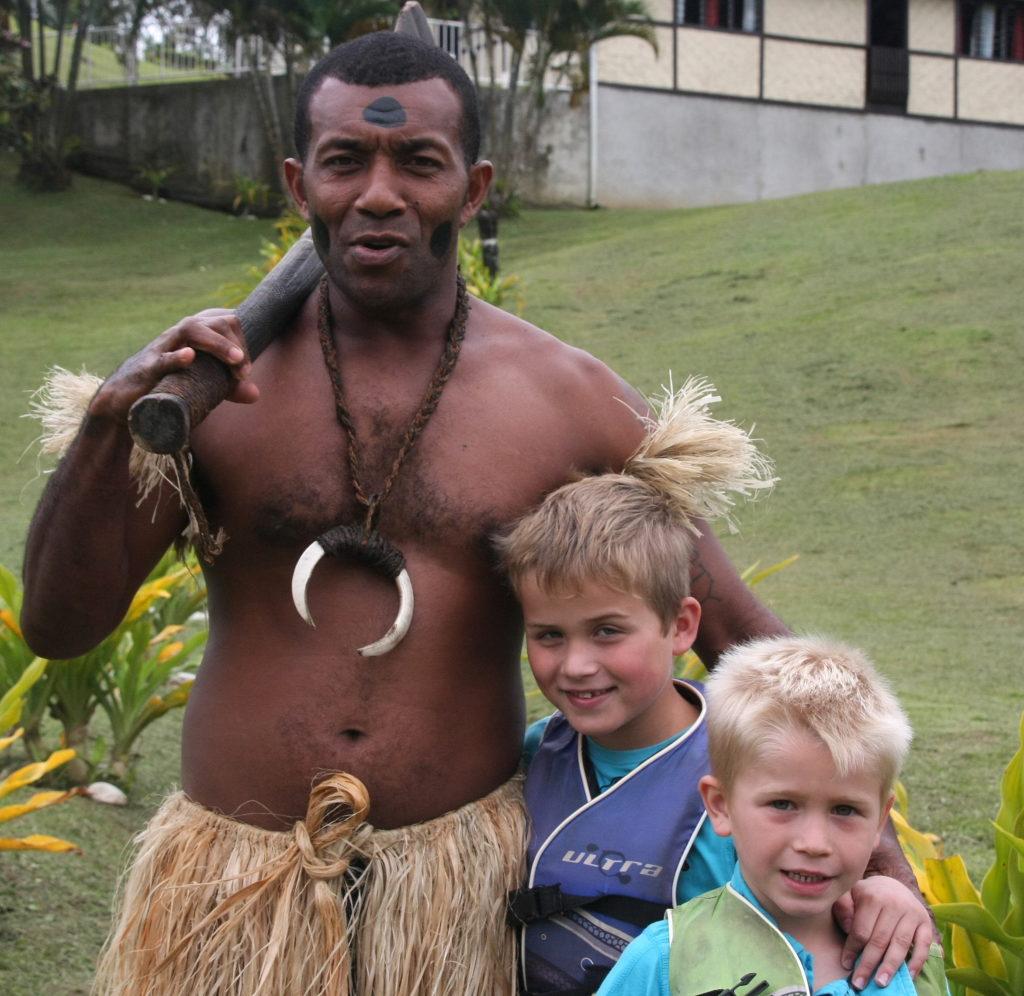 Fiji met kinderen reisfoto's