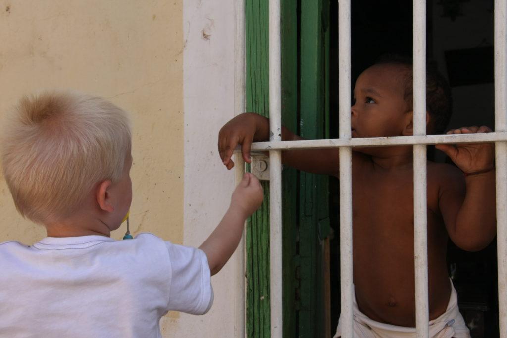 Cuba met kinderen