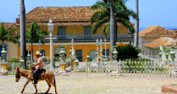 trinidad cuba met kinderen reisfoto's