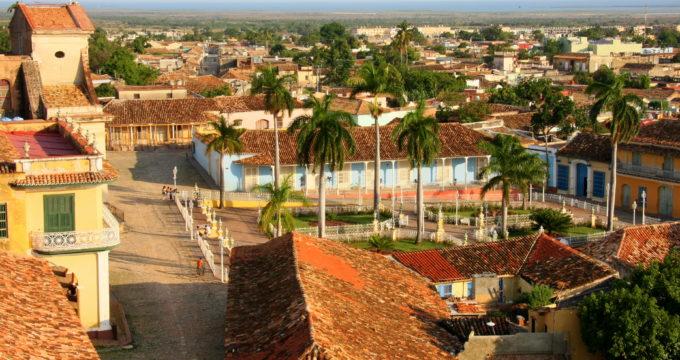 Trinidad Cuba met kinderen