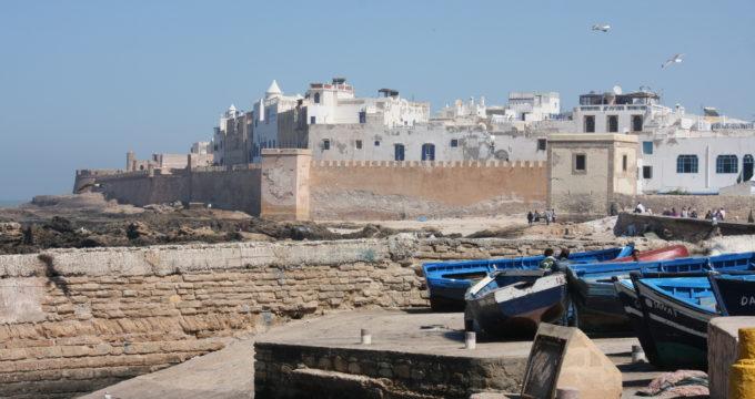 Essaouira Marokko met kinderen