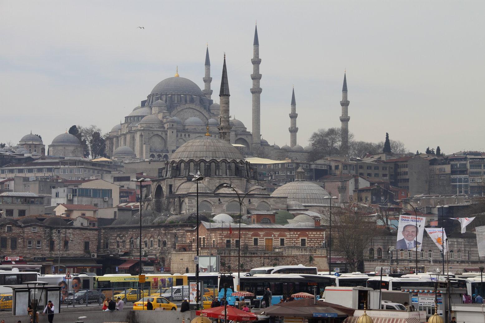 Istanbul Turkije met kinderen