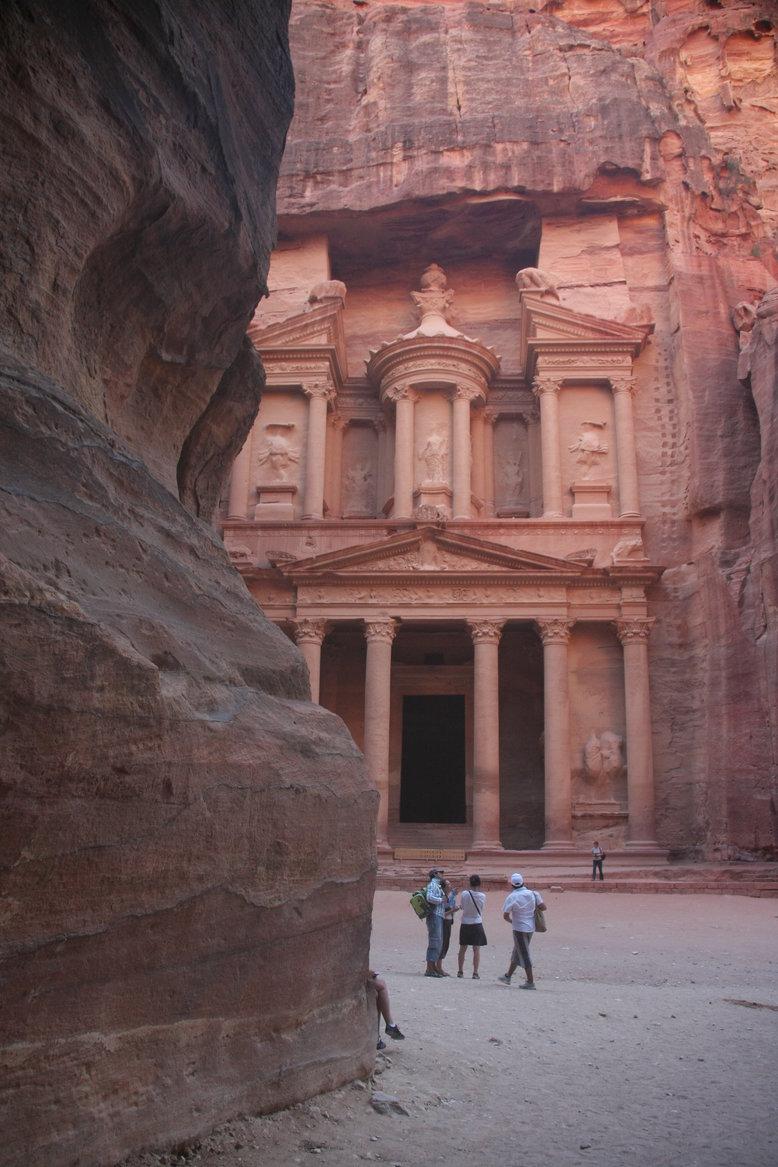 Jordanië Petra met kinderen