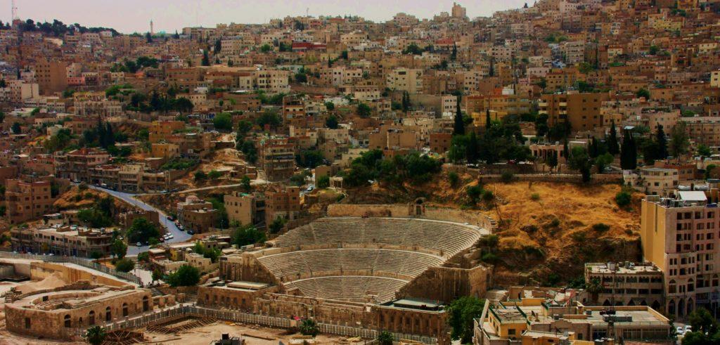 Amman Jordanië met kinderen