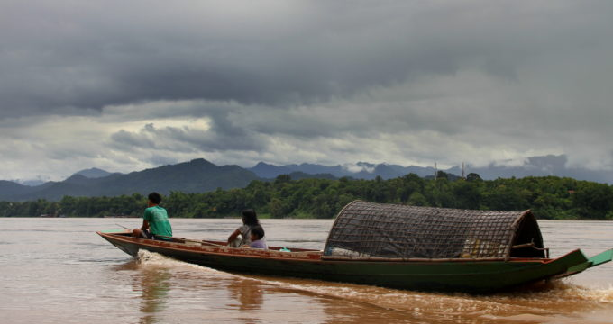 Mekong trip Laos met kinderen