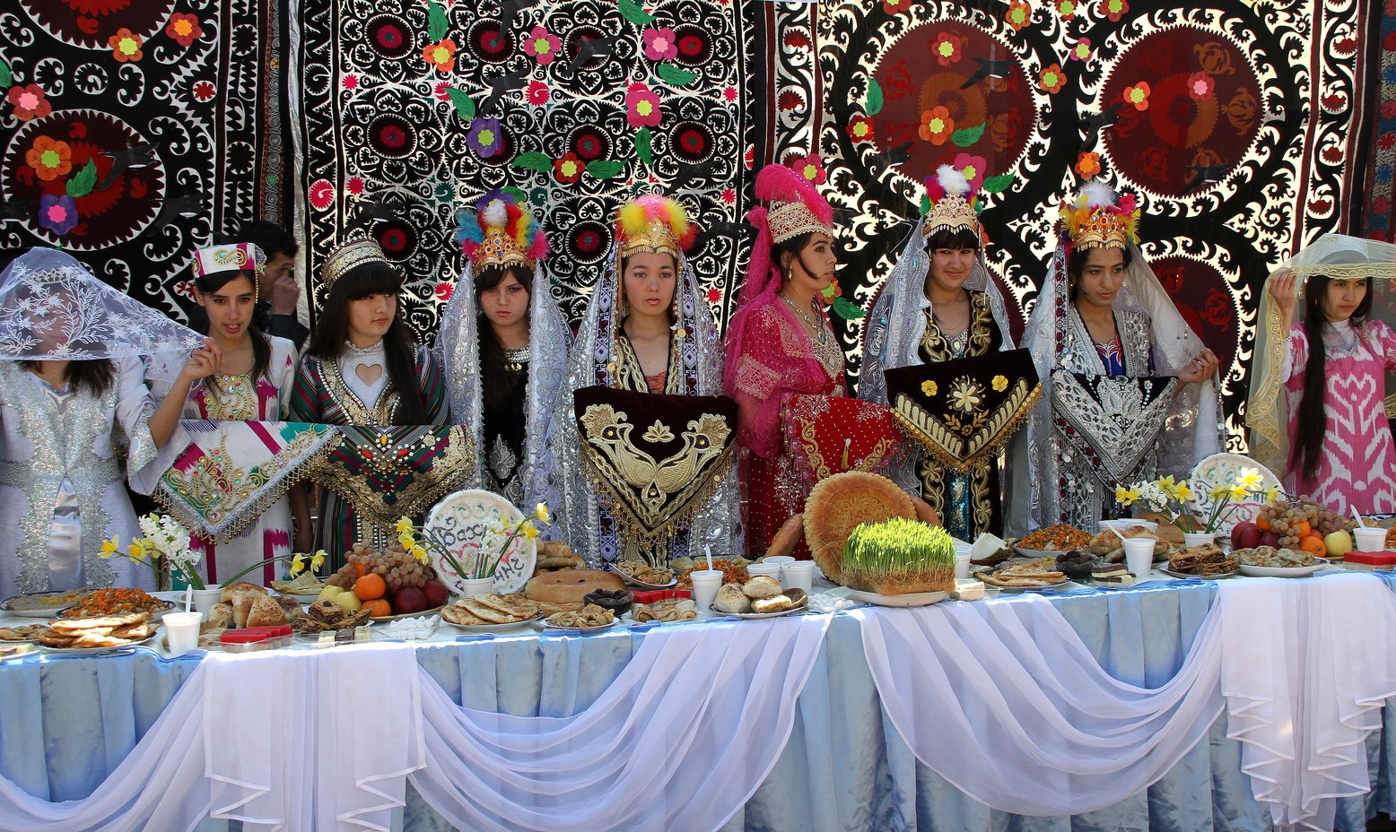 Noroez Samarkand Oezbekistan (Perzisch nieuwjaar)