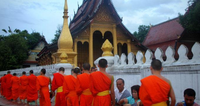 Laos met kinderen reisfoto's