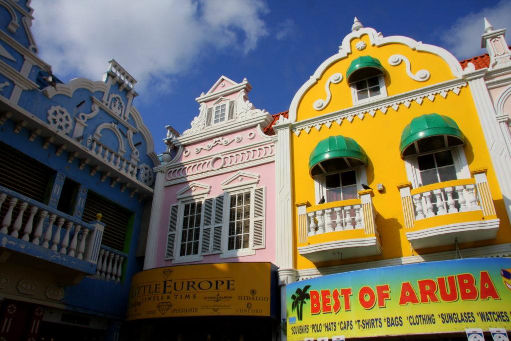 Oranjestad Aruba met kinderen