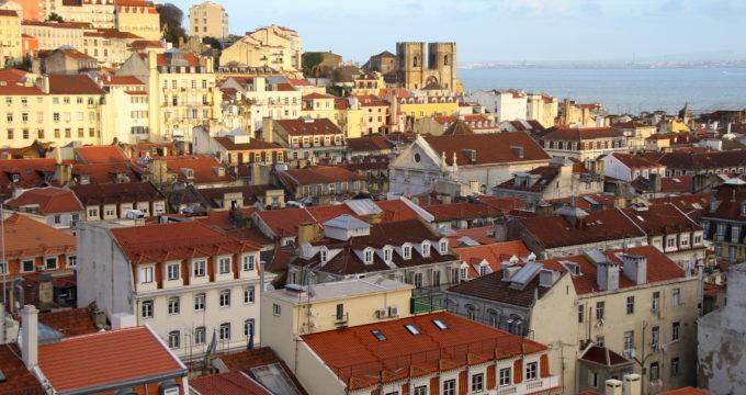 Lissabon met kinderen reisfoto's