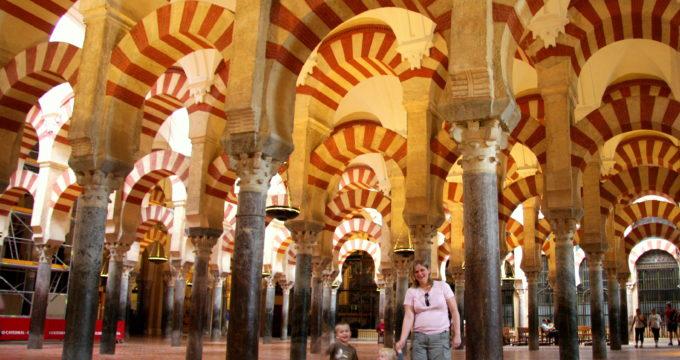 Andalusië reisfoto's met kinderen