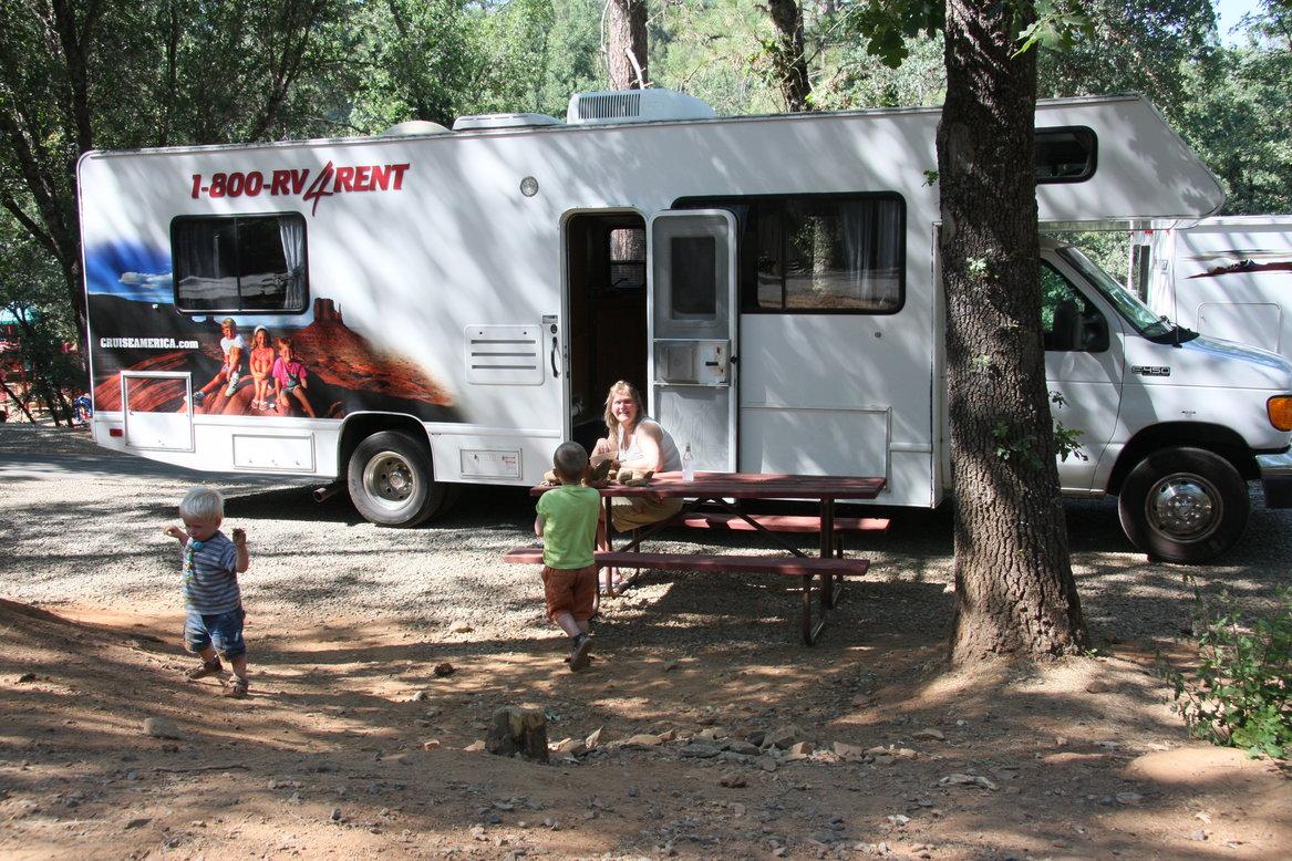 Amerika met kinderen camper reizen
