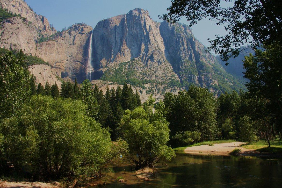 Yosemity nationaal park Amerika met kinderen