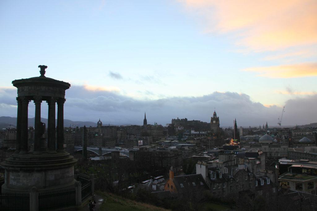 Edinburgh met kinderen reisfoto's