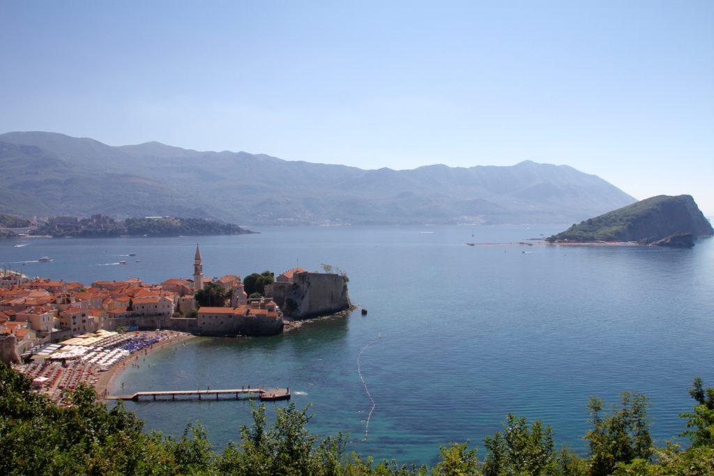 Budva Montenegro met kinderen reisfoto's