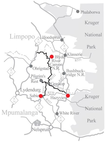 Panorama route Zuid Afrika met kinderen