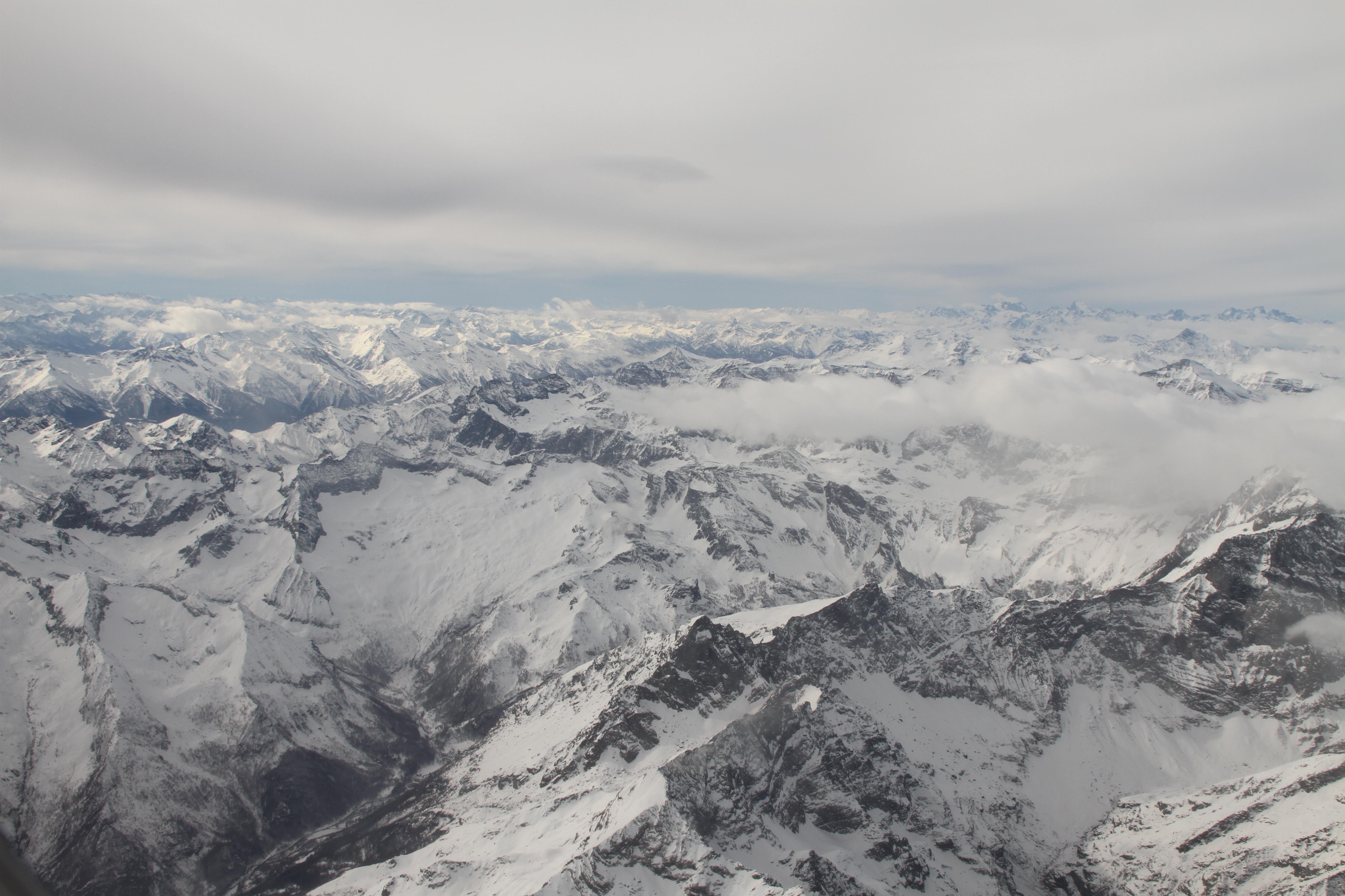 Alpen nabij Turijn