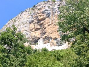 Ostrog klooster Montenegro