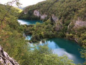 Plitvice meren Kroatie met kinderen