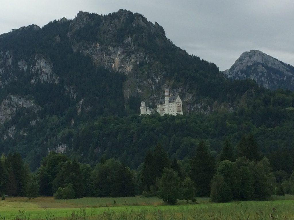 Neuschwanstein Zuid Duitsland met kinderen